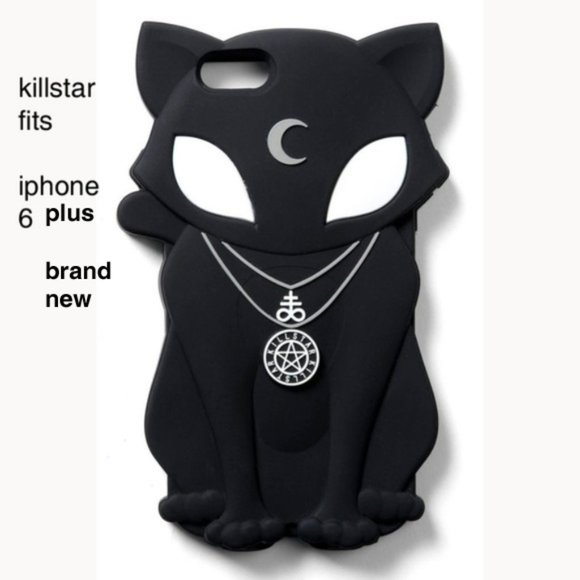 Killstar Accessories - Beltane killstar iPhone 6+ phone cover brand new